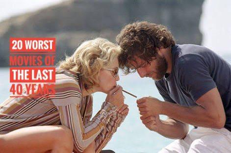 20 peores películas de todos los tiempos 1