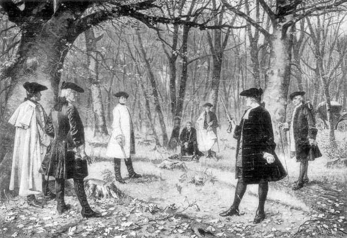 ¿Por qué Alexander Hamilton se batió en duelo con Aaron Burr? 3