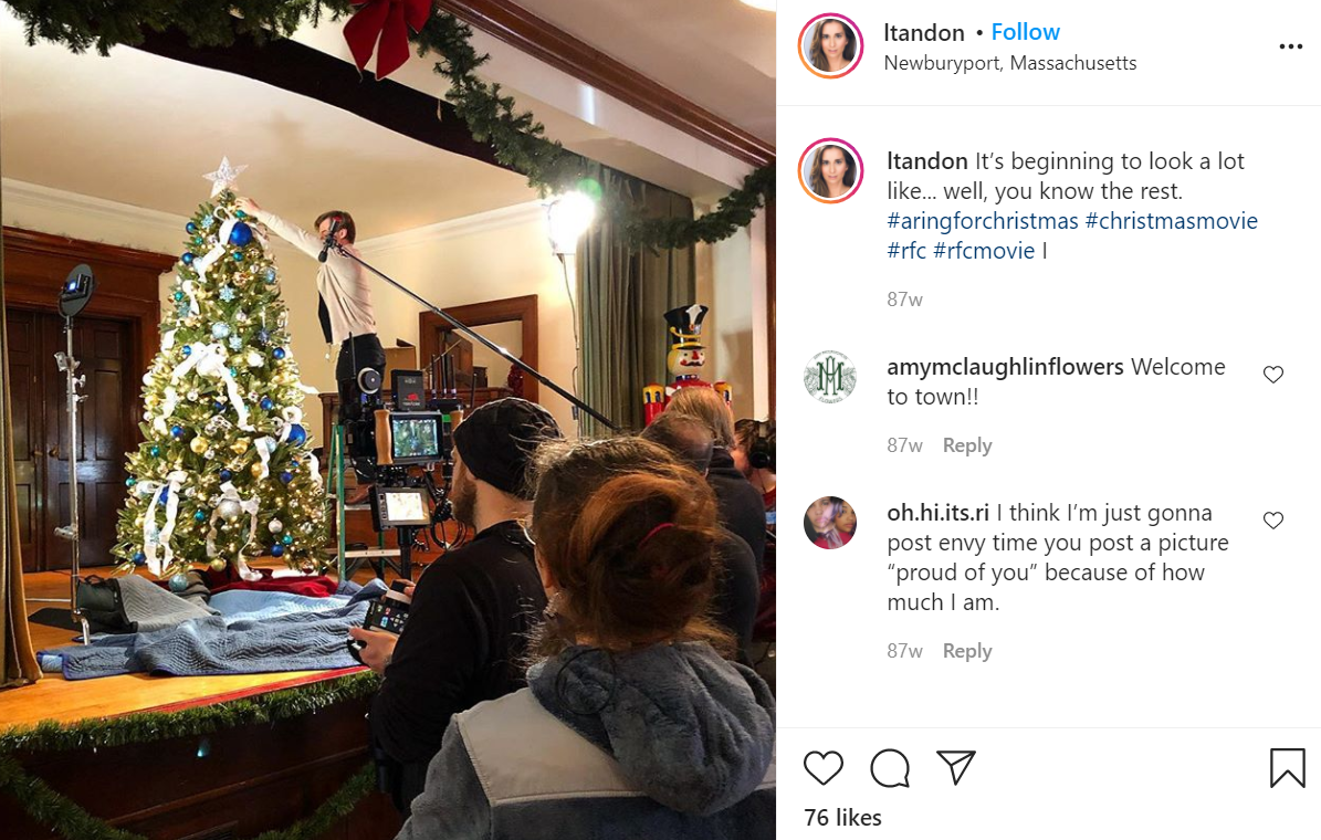 ¿Dónde se filmó un anillo para Navidad? Detalles del reparto de Hallmark 7