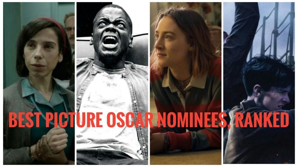Mejores películas ganadoras del Oscar de 2017, clasificadas 1