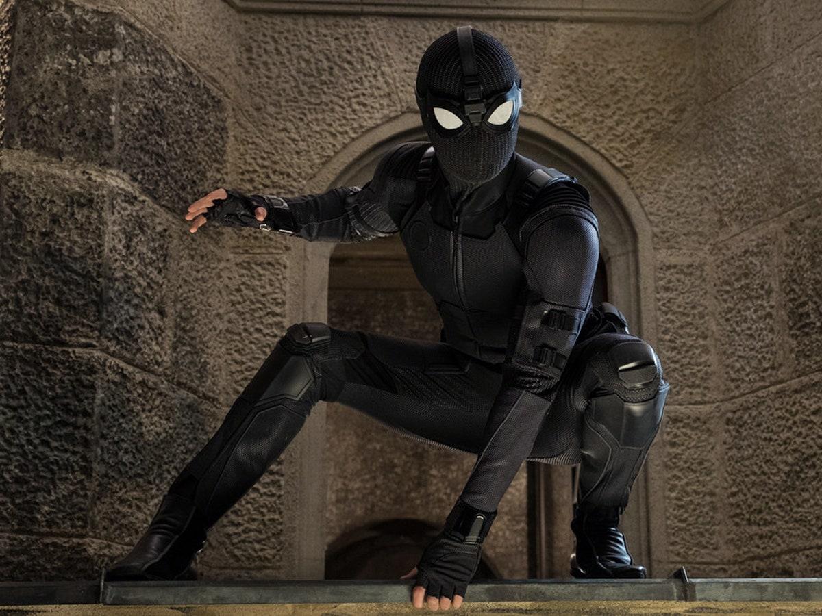 Resultado de imagen para el hombre araña lejos de casa
