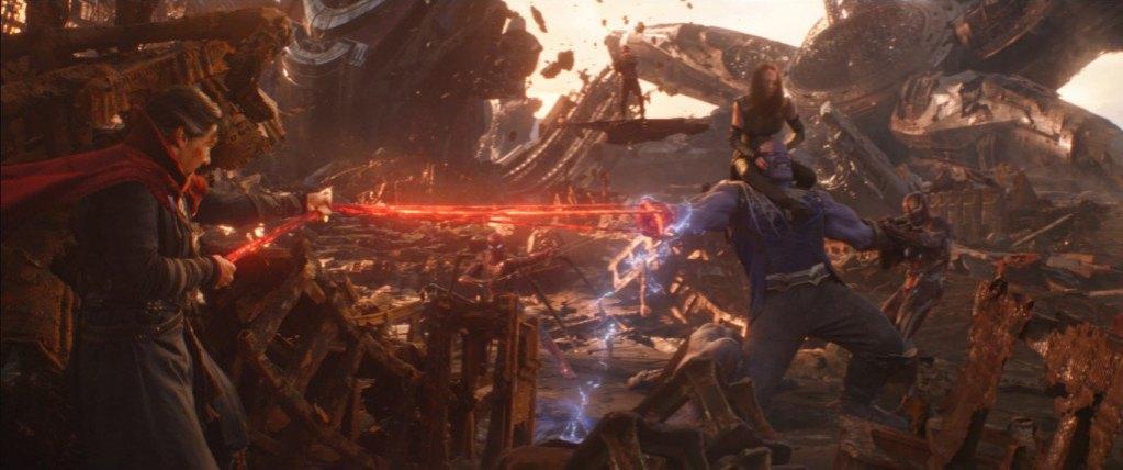 Vengadores Infinity War vs.Final del juego Taquilla 3
