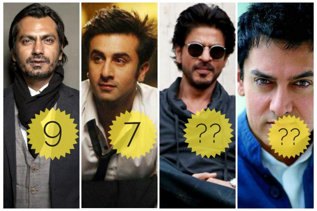 Los 10 mejores actores de Bollywood del 21 ° Cnetury 1