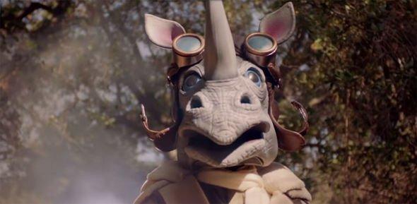 Rhino en El cantante enmascarado 1